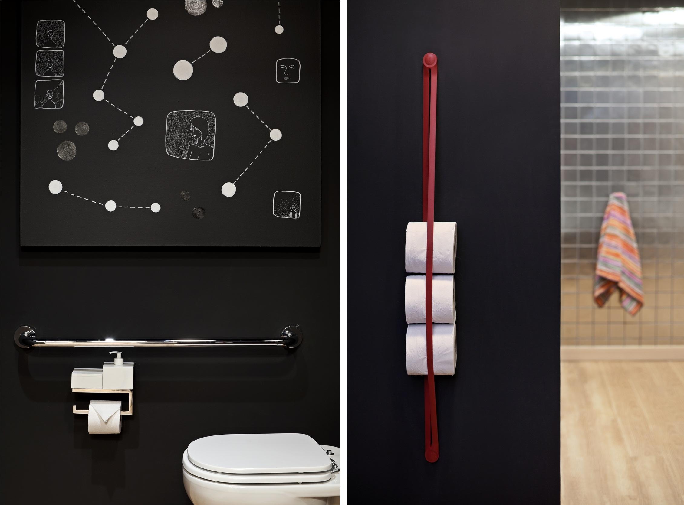 Acessibilidade e espaços adaptados Design Culture #9C512F 2260x1670 Adaptação De Banheiro Para Cadeirante
