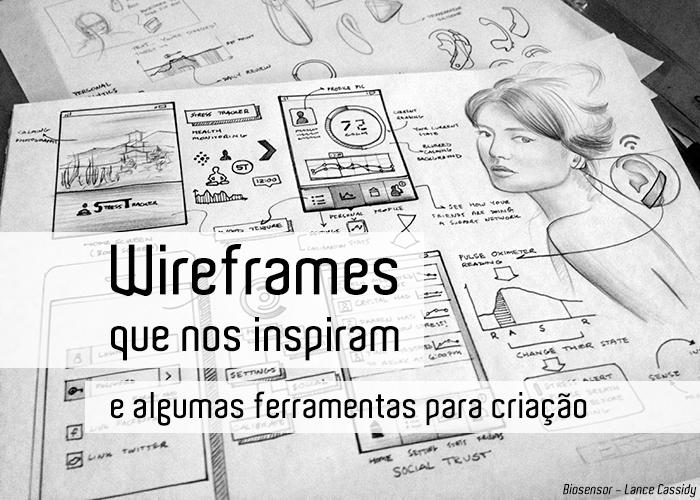 Wireframes que nos inspiram