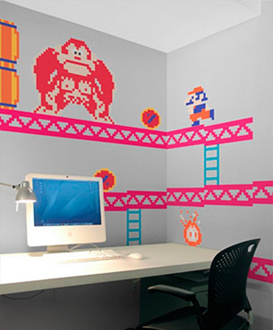 Home Office Donkey Kong