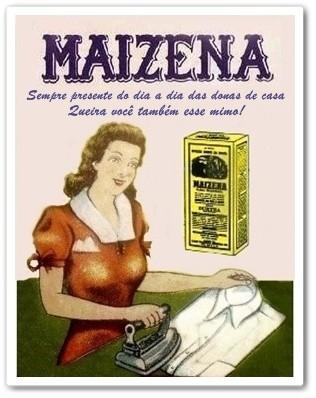 MAISENA - PRODUTOS MAIZENA - MAISENA - PROPAGANDAS ANTIGAS - 096