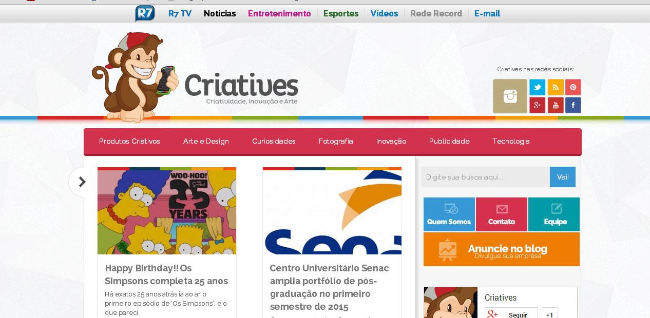 Destaque 2014  Os principais Blogs de Design e Comunicação do Brasil ... 96a61dde2de21