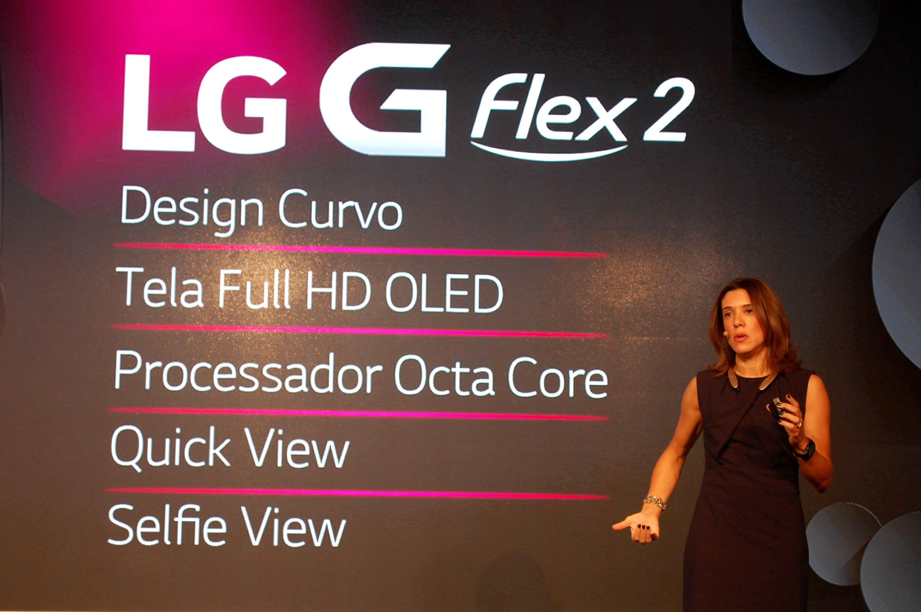 1ab6d64536 A LG apresentou em São Paulo as novidades de sua linha de produtos para  2015