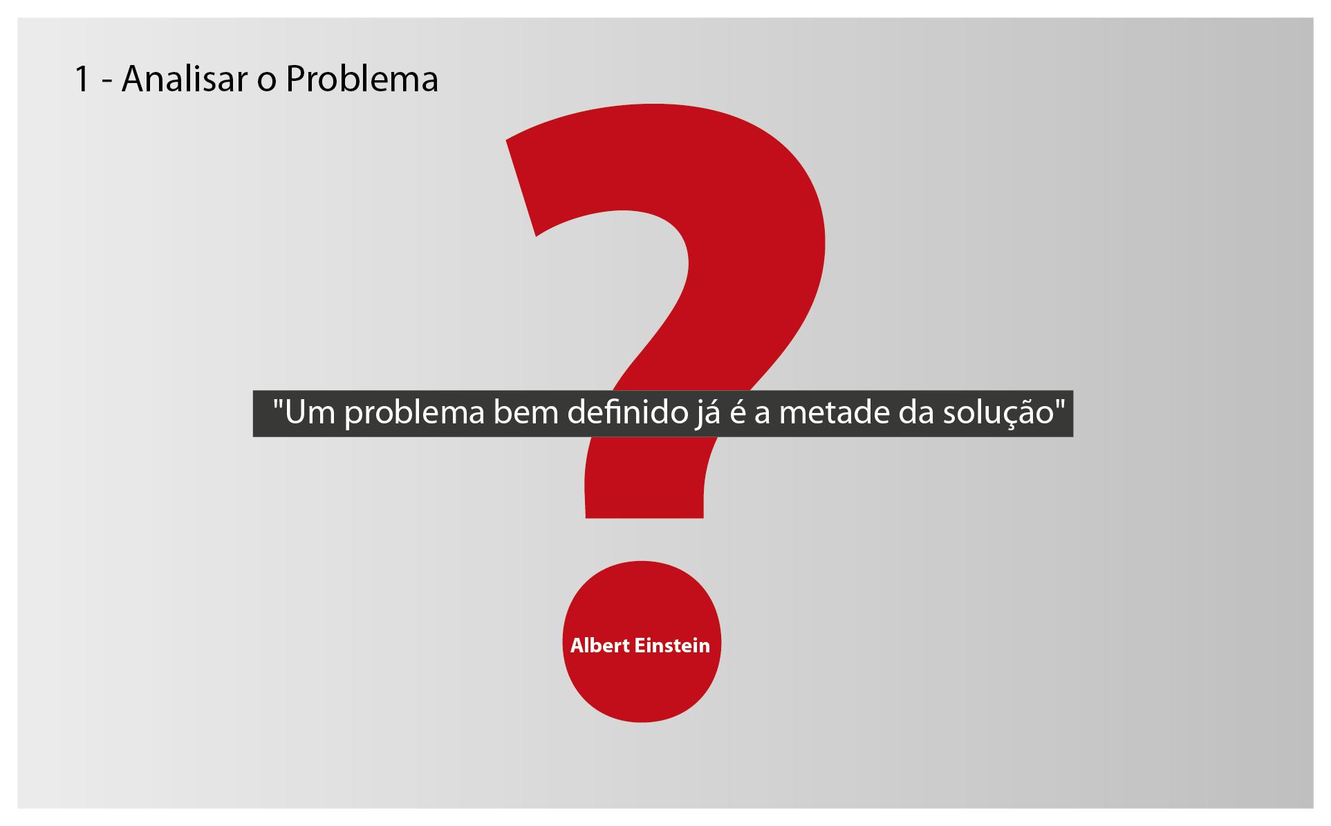 Análise ao Problema