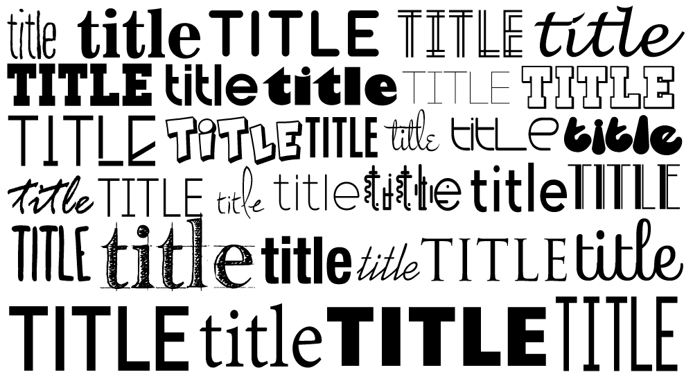 Title Art