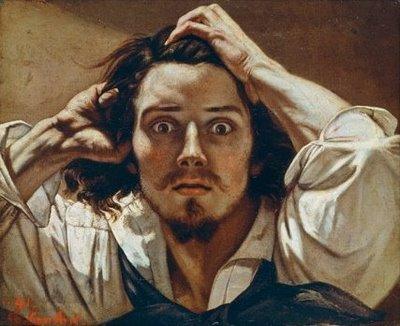 Auto-retrato de Gustave Courbet