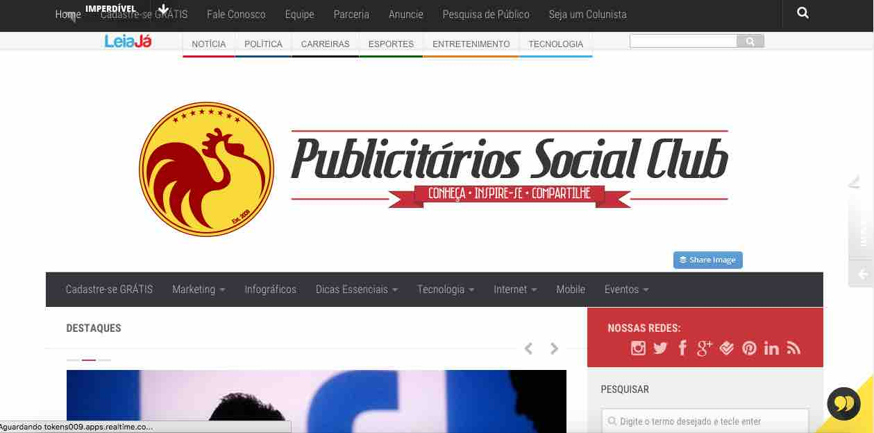 Home do site Publicitarios SC