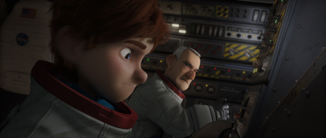 (L-R) Mike Goldwing and Frank Goldwing in the animated film, CAPTURE THE FLAG, by Paramount Pictures