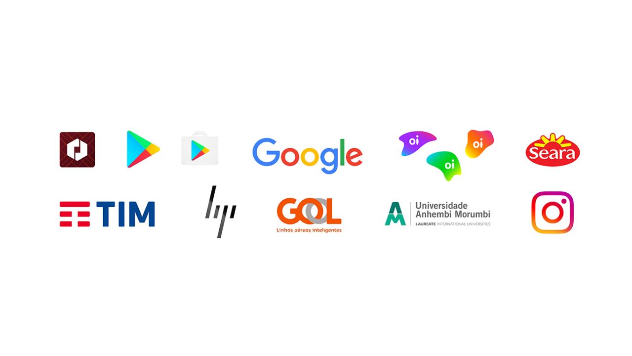 Redesign de logotipos em 2016