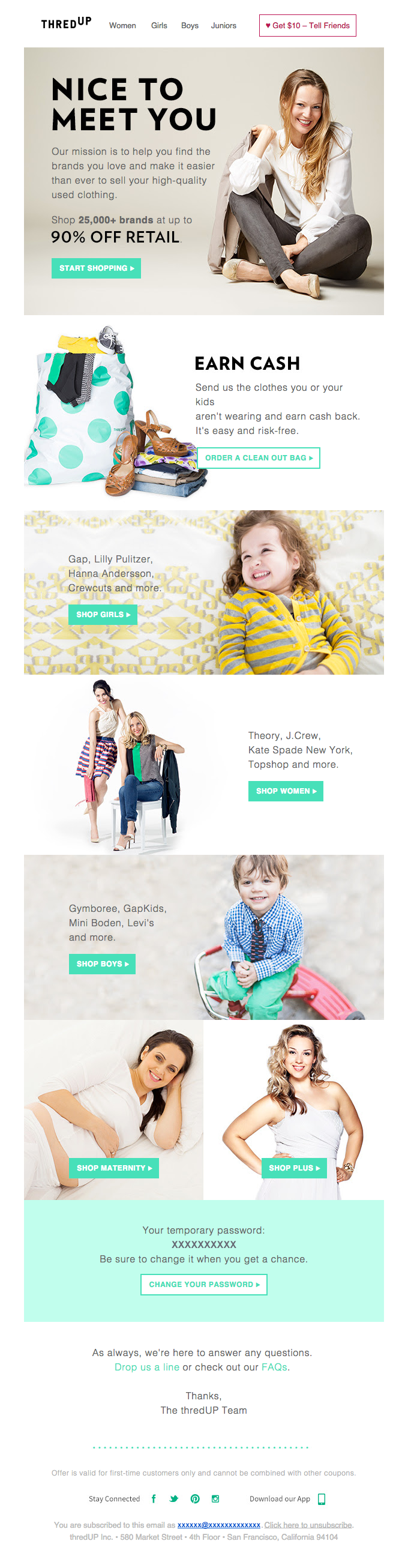new-signup-onboarding-ecommerce-email-with-discount-from-thredup